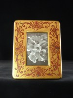 4 x 6 Red & Goldleaf Photo Frame