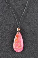 Agate & Leather Necklace