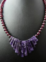 Amethyst & Garnet Necklace