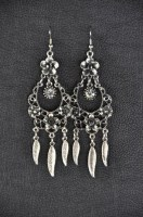 Attica Silver Earrings