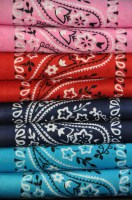 Coloured Bandanas