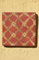 Patterned Terracotta Tile