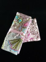 Silk Jewellery Roll & Coin Purse
