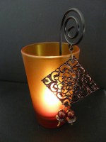 Tealight Votive with Handle