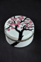 Winter Blossom Trinket Box